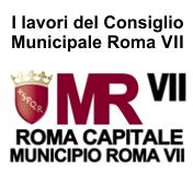Roma Capitale Municipio Roma VII sedute 2